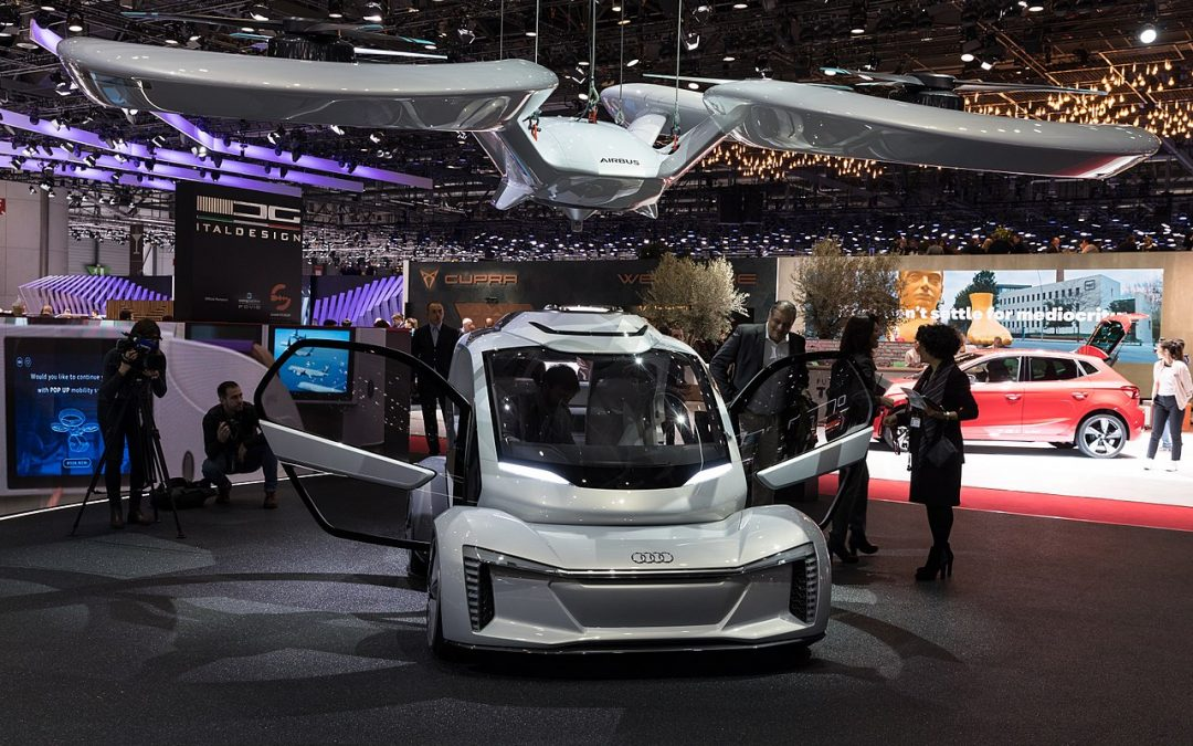 Pop.Up Next, le nouveau drone navette d'Airbus et Audi